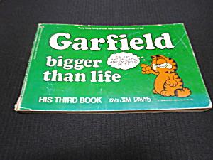 Garfield Bigger than Life Book by Jim Davis 1978 (Image1)