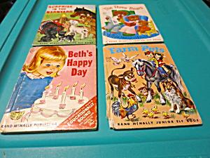 Set of 4 Rand McNally Jr. Elf Books 1950s (Image1)
