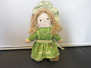 Vintage Holly Hobbie Doll Friend Amy 6 Inch Cloth Doll