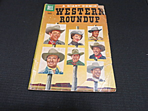 Western Roundup Giant Comic Book 1958