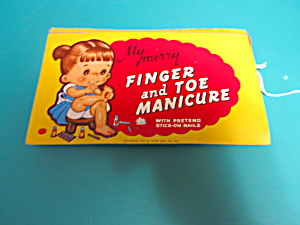 Childs Finger And Toe Manicure Mib 1955