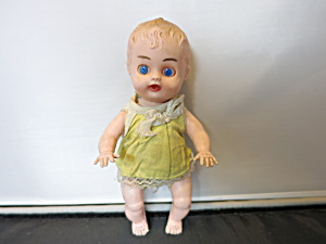 Plastic Red Box Hong Kong Doll Sleep Eye Jointed