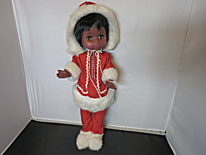 Vintage Eskimo Doll Regal Toy Ltd Canada 1960s