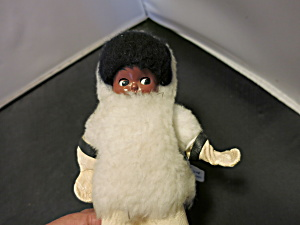 Hard Plastic Eskimo Doll Rattle
