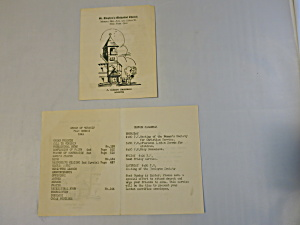 St. Stephen's Methodist Church Bulletin New York 1941 (Image1)