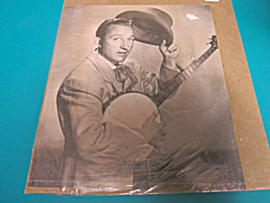 Bing Crosby W/ Banjo Picture