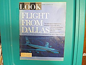 LOOK MAGAZINE, FLIGHT FROM DALLAS, 2/21/67 (Image1)