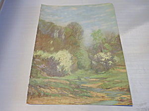 Fragrance of Spring by V. J. Cariani Lithograph Print  (Image1)