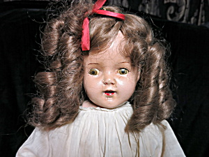 Ideal Composition Cloth Doll 22 inch Crier (Image1)