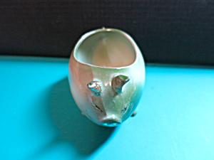 Porcelain Pig Planter Germany Gold Trim (Image1)
