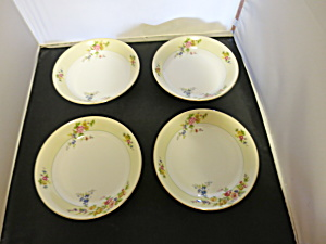 Meito China Floral Soup Bowl Made in Japan set of 4 (Image1)