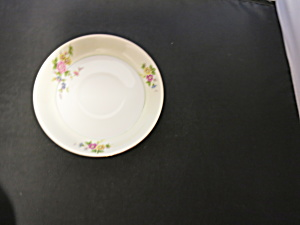 Meito China Floral Saucer Cup Plate no Cup Japan (Image1)
