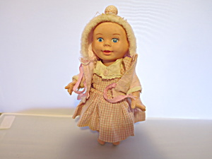 Three Faced Doll T T Hong Kong 1950s Soft Hard Plastic