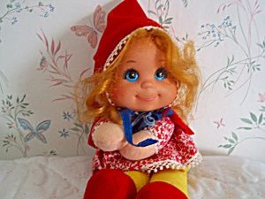Little Red Riding Hood Baby Beans Doll Mattel