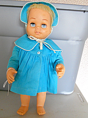 Tiny Chatty Baby Doll Mattel 1962
