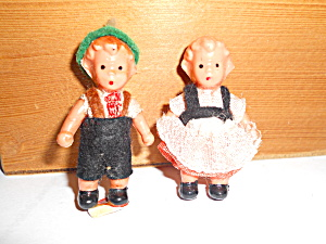 Miniature Doll Pair Germany