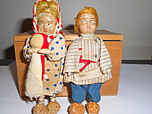 Doll House Mother And Father Dolls