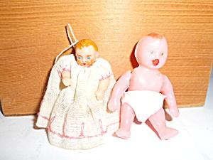 Miniature Dolls Pair 2 inch (Image1)