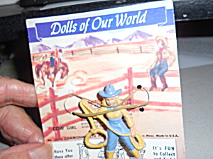Commonwealth Dolls Of Our World Cow Girl