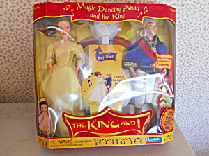 King And I Doll Set Nrfb, 1999