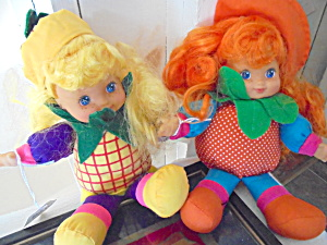 Citi Toys Bean Bag Doll Set Of 2 Girl Dolls