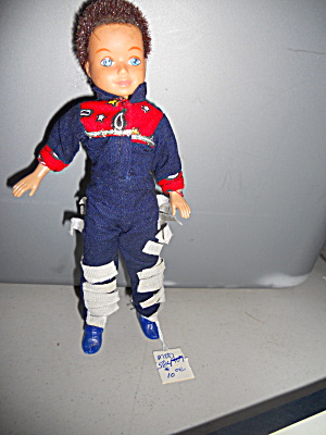Kid Kore 1992 7 1/2 Inch Tall Cowboy Doll