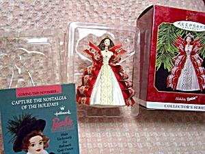 Holiday Barbie Ornament Hallmark 1997 (Image1)