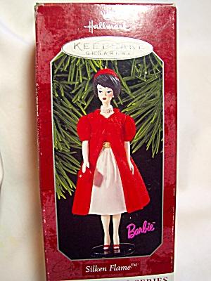 Barbie Silken Flame Ornament 1996 Hallmark (Image1)