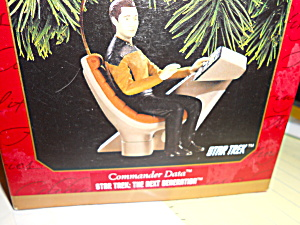 Star Trek Commander Data Ornament Hallmark (Image1)