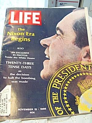Life Magazine Nixon Era November 15 1968 (Image1)