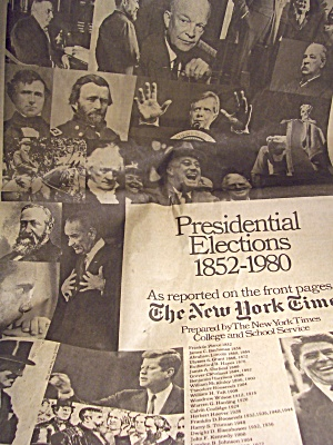 Newspaper Presidental Elections 1852-1980