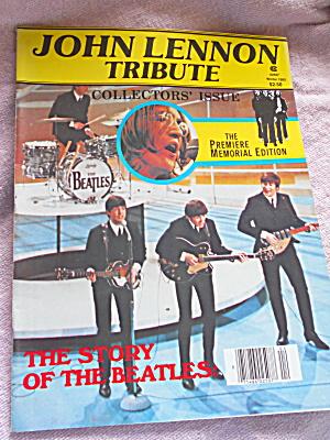 John Lennon Tribute Magazine 1980 (Image1)