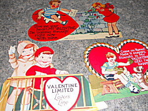 Valentine Cards Stand Up, Lot of 3 (Image1)