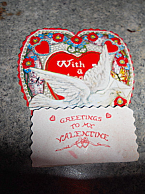 Valentine Card W/ Dove and Pop Up (Image1)