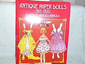 Antiqlue Paper Dolls, Dover Pub. 1973 (Image1)