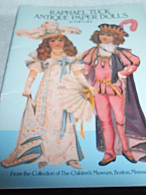 Paper Dolls Raphael Tuck 1987  (Image1)