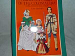 Paper Dolls Colonial Era Family 1983 (Image1)