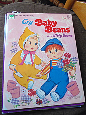 Baby Beans Paper Dolls Whitman 1973 (Image1)