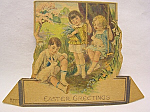 Easter Greetings Stand Up Card, U.S.A. (Image1)
