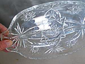 Anchor Hocking Starburst Divided Dish