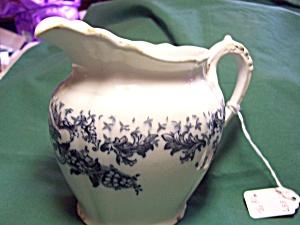 Porcelain Opaque Pitcher Bridgwood & Son  (Image1)