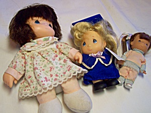 Precious Moments Dolls Set of 3 (Image1)