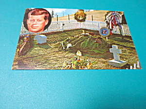 John F Kennedy Memorial Burial Post Card (Image1)