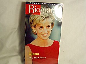 Biography Diana VHS Tape Factory Sealed (Image1)
