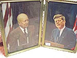 Eisenhower and John F Kennedy framed Pictures (Image1)