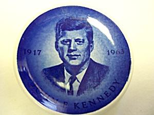 John F Kennedy Royal Copenhagen Plate 3 inch (Image1)