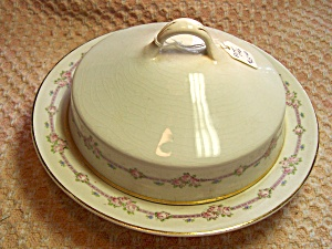 Harker Pottery Butter Dish or Cheese Dish (Image1)