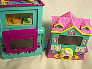 Polly Pocket Type Houses Animated Pair