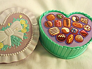Polly Pocket Type Heart Compact Babies Kenner