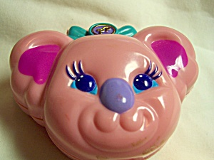 Polly Pocket Koala Bear Compact Bluebird 1984